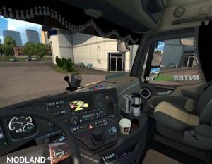 Mercedes Actros MP4 Interior, 1 photo