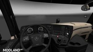 Mercedes Actros MP4 Interior