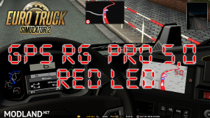 GPS RG PRO 5,0 RED LED