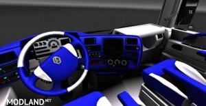 Renault Magnum Blue Interior