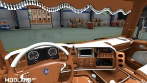 Downloading Scania RJL and SCS R-series G Scaniakias Interior