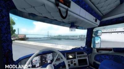 Scania Streamline Special Custom interior Fixed Mirrors, 1 photo