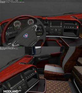 SCANIA WOOD & LOUIS VOUITTON REALLY LUXURE INTERIOR v 1.0