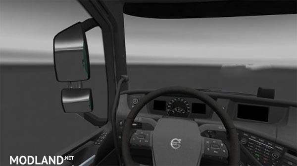 Volvo Fh16 2012 Black Interior Mod For Ets 2