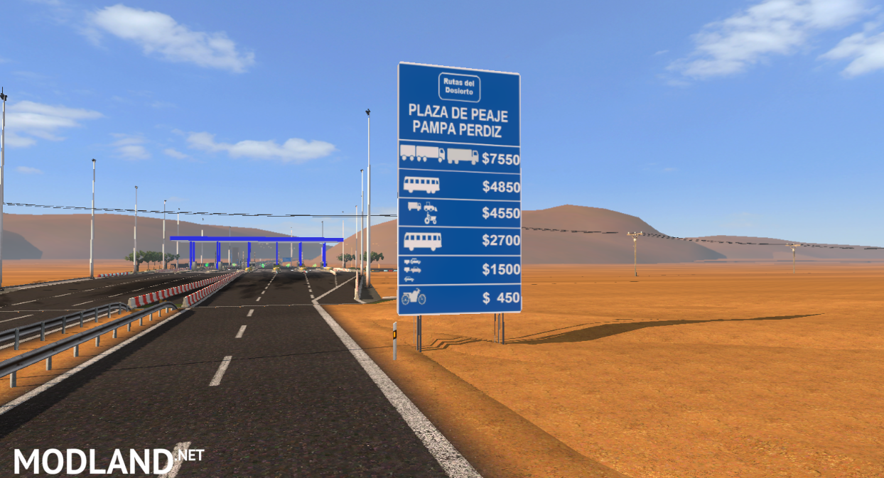 Chile Map Mod For Ets 2