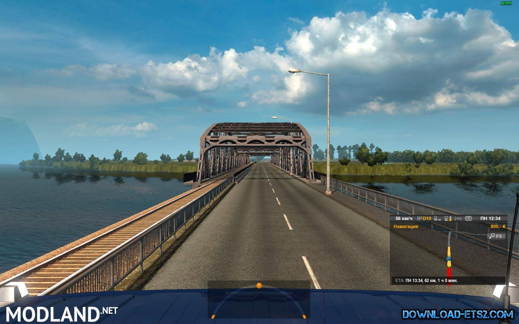 Australia Map Ets2.Australia Tasmania Map V5 2 By Ivanmykyt 1 26 X Mod For Ets 2