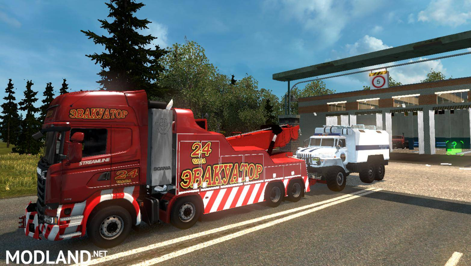Russian Open Spaces v5 2 [1 30] mod for ETS 2