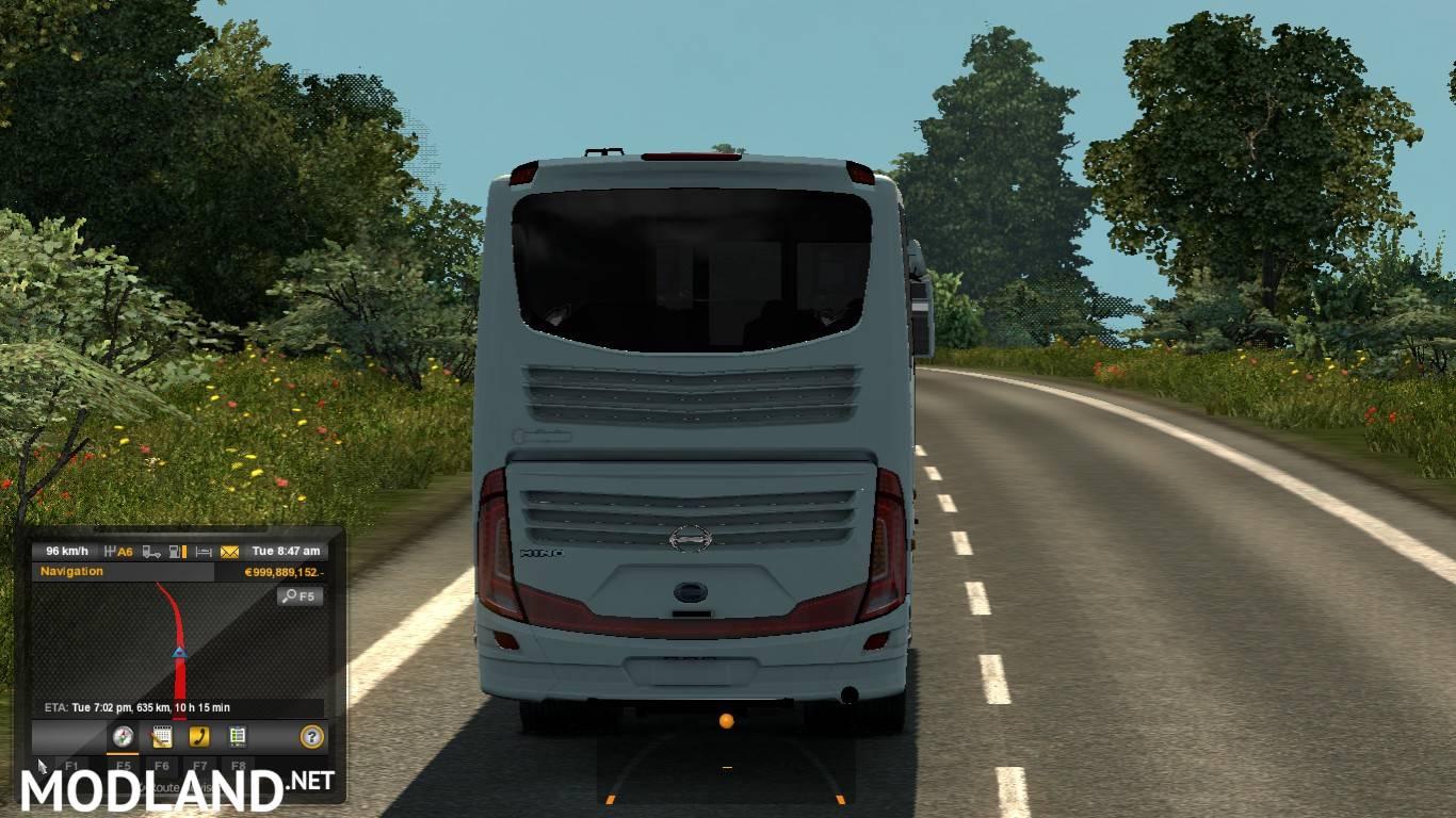 Bangladesh Coach Simulator Mod [1 27 x] mod for ETS 2