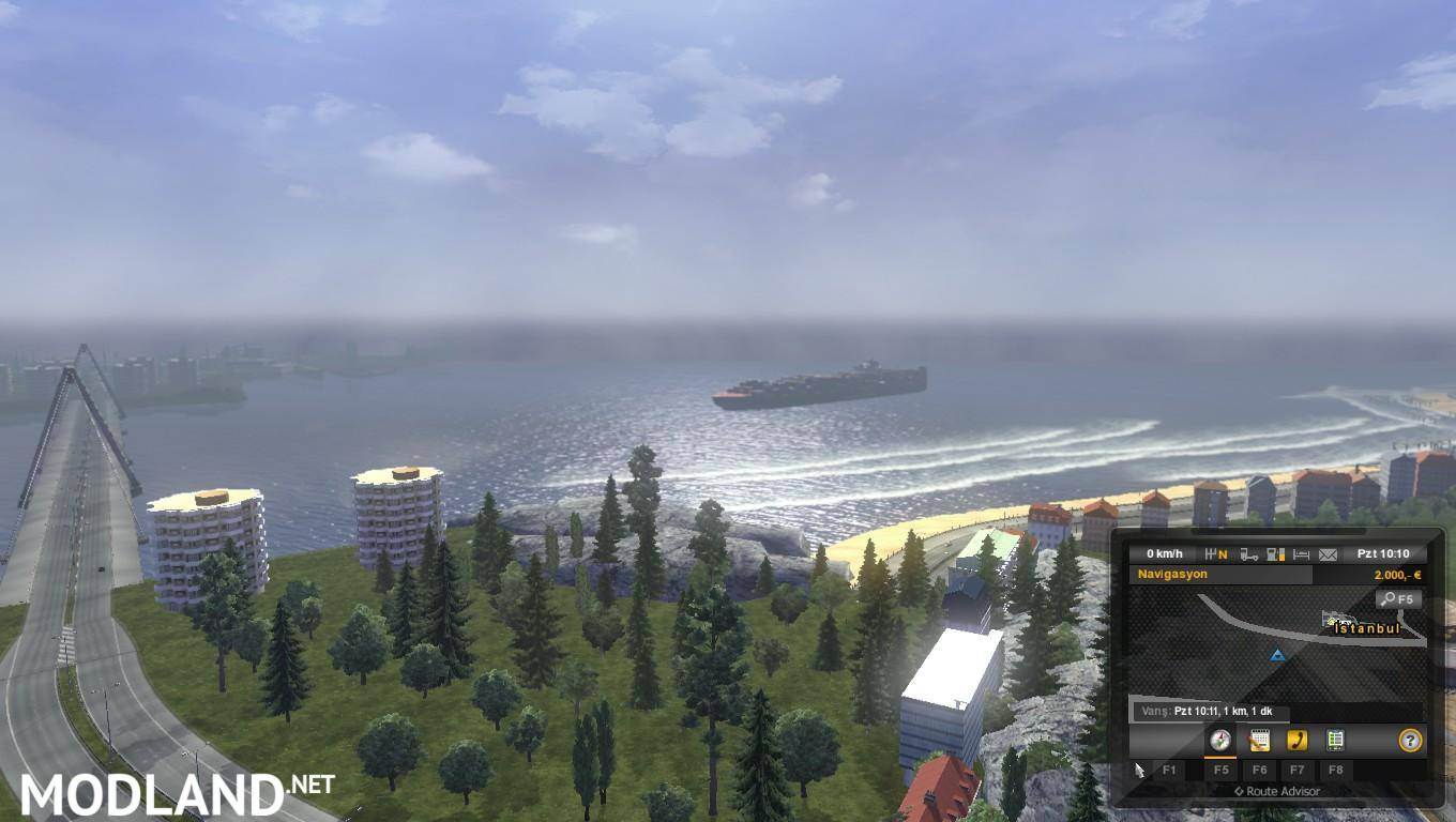 Europe & Africa Mario Map v 10.2 1.16.x mod for ETS 2 on