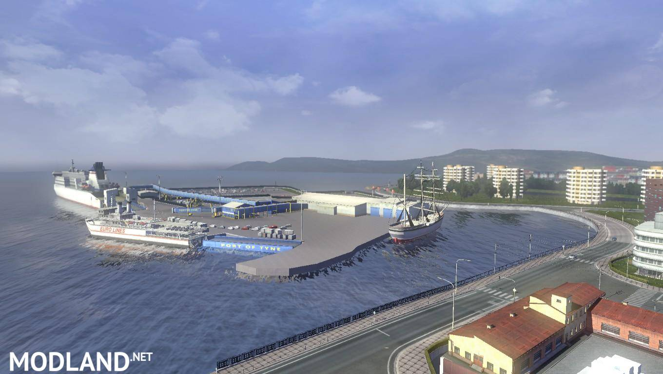 Ets2 Africa Map Download Europe & Africa Mario Map v 10.2 1.16.x   ETS 2