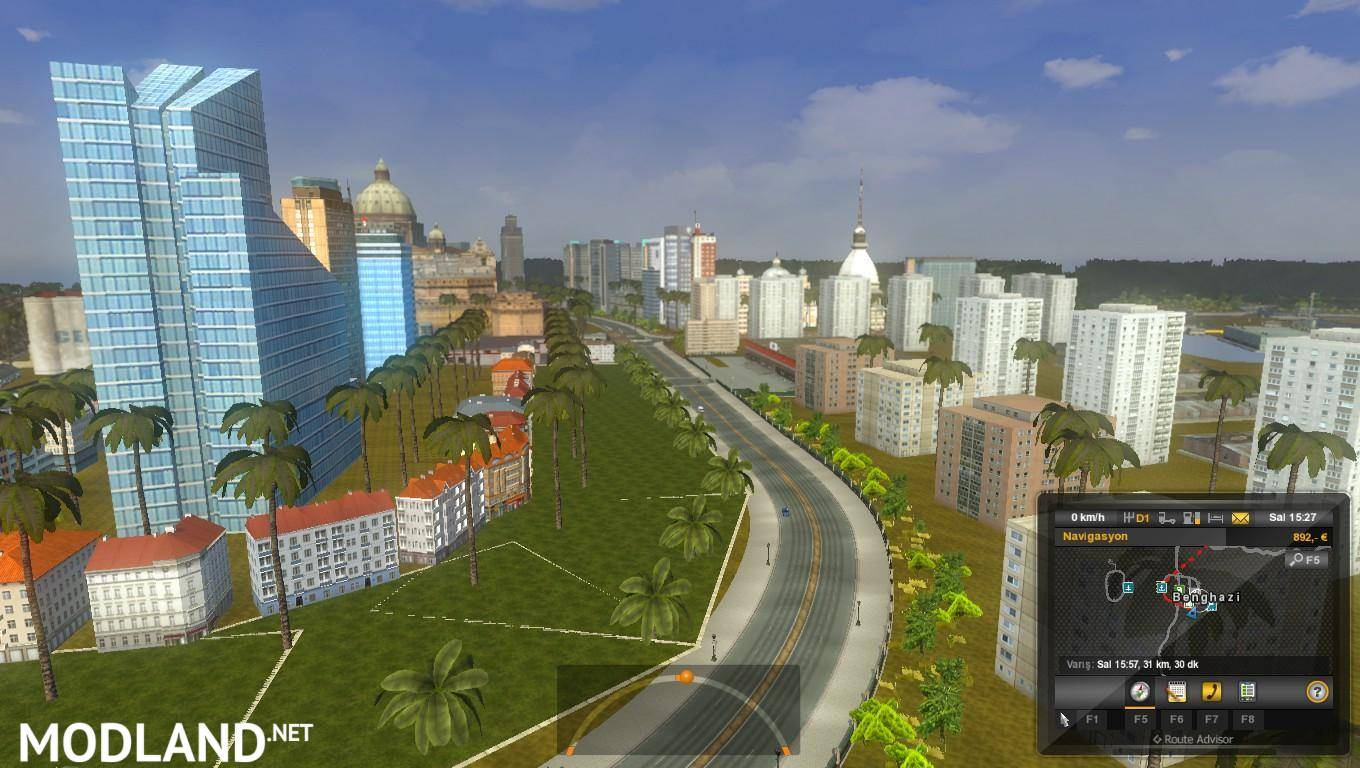 Europe & Africa Mario Map v 10 2 1 16 x mod for ETS 2