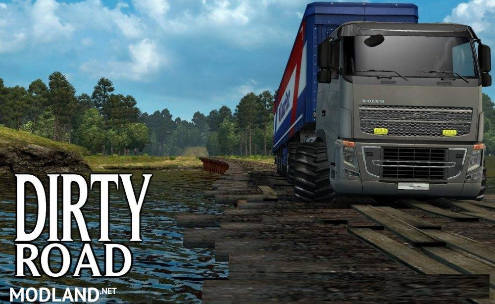 Dirty Road [1 27] mod for ETS 2