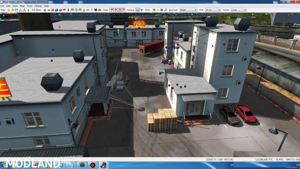 Real Hard Parking v 0 3 1 34 mod for ETS 2