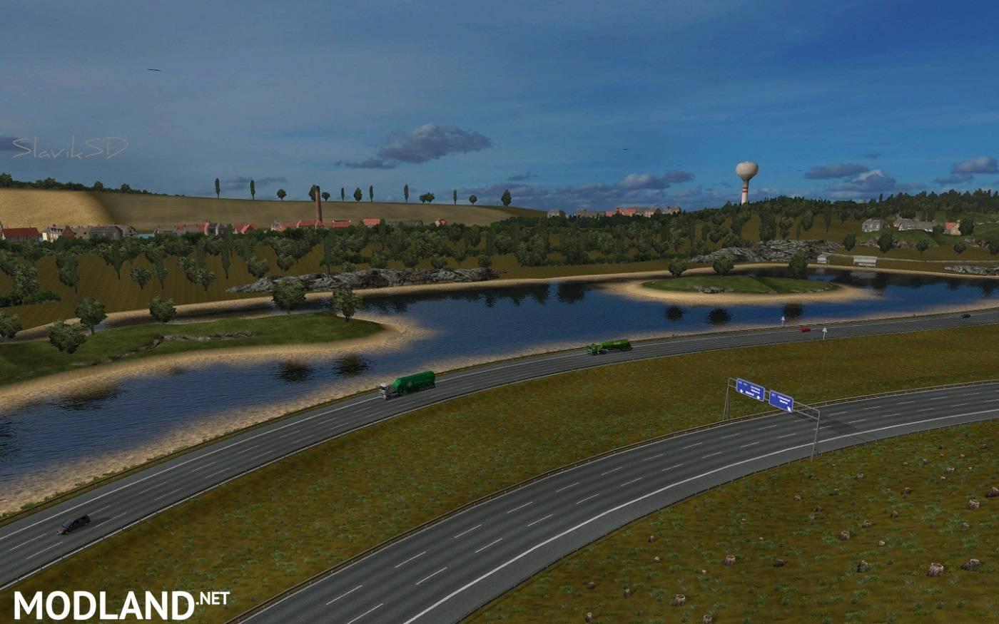 Spain map v2 2 mod for ETS 2