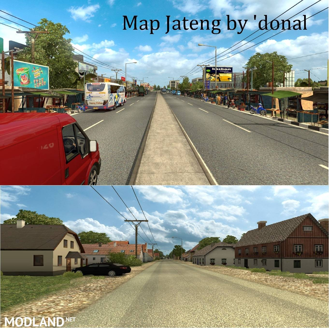 Map Jateng Indonesia mod for ETS 2