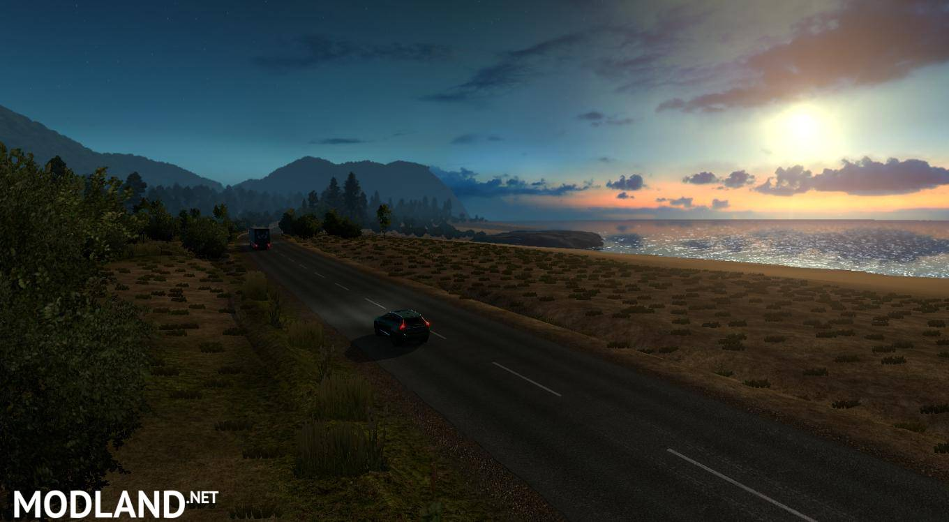 Australia Map Ets2.Australia Tasmania Map V 5 2 Mod For Ets 2