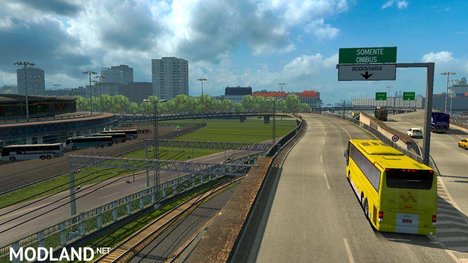 MAPA EAA BUS 10 ANOS - ETS2 1.34 mod for ETS 2