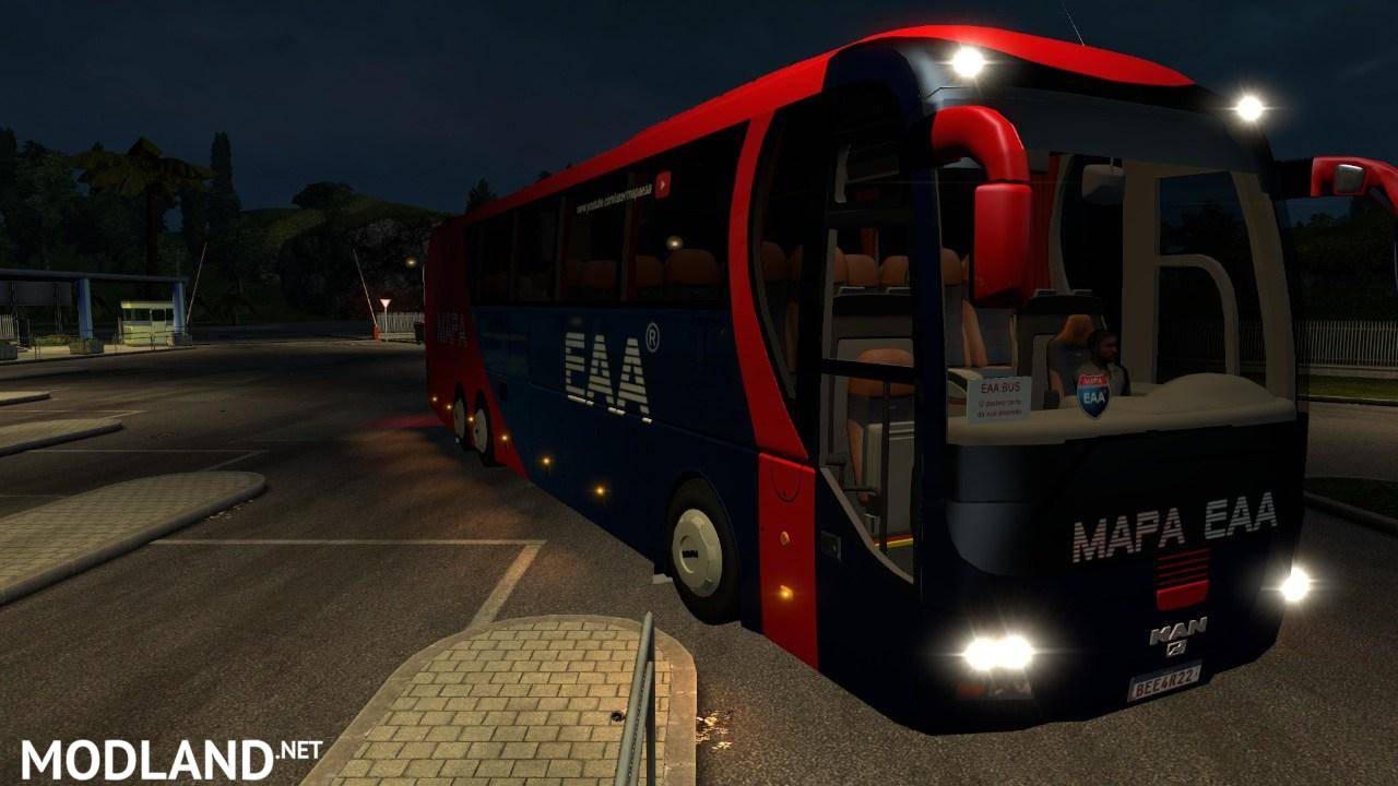 eaa bus v 4 1 mod for ets 2. Black Bedroom Furniture Sets. Home Design Ideas