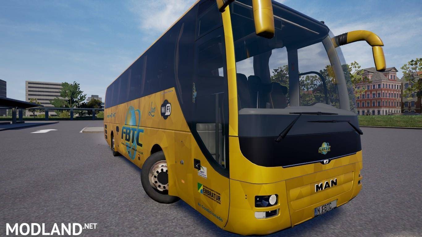 Mapa EAA Bus version v4 5 (1 30) mod for ETS 2