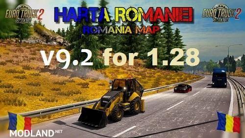 Harta Romania V9 2 Mod For Ets 2