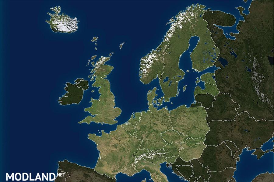 ProModz ProRus Satellite Maps Mod For ETS - World satellite map software download