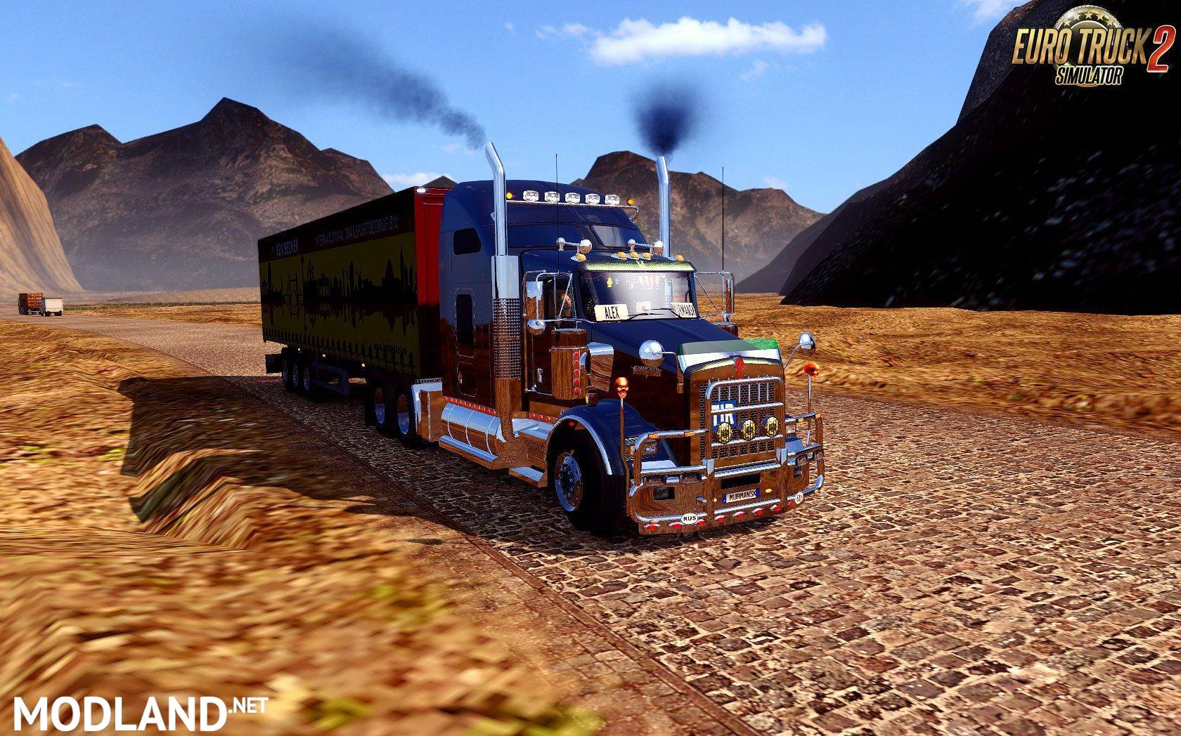 Mario Map v12 7 [1 31 x] mod for ETS 2