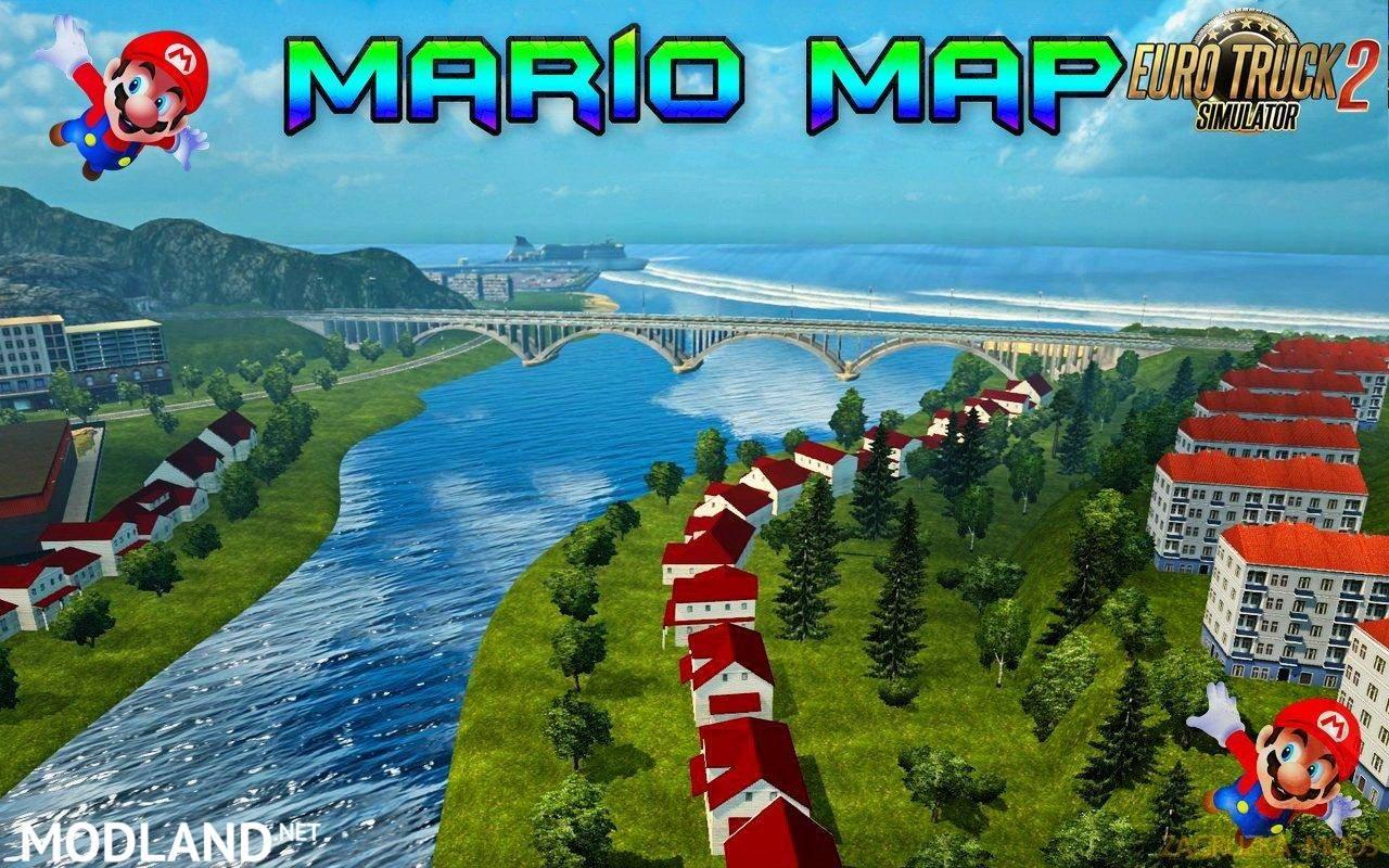 Mario map v127 130x mod for ets 2 mario map v127 130x publicscrutiny Image collections