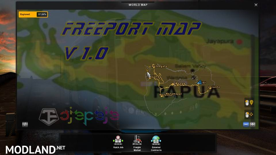 Freeport Indonesia Map V1 by Ojepeje Team