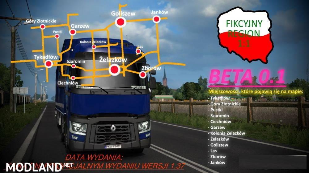 Fikcyjny Region 1:1 v0.1 BETA