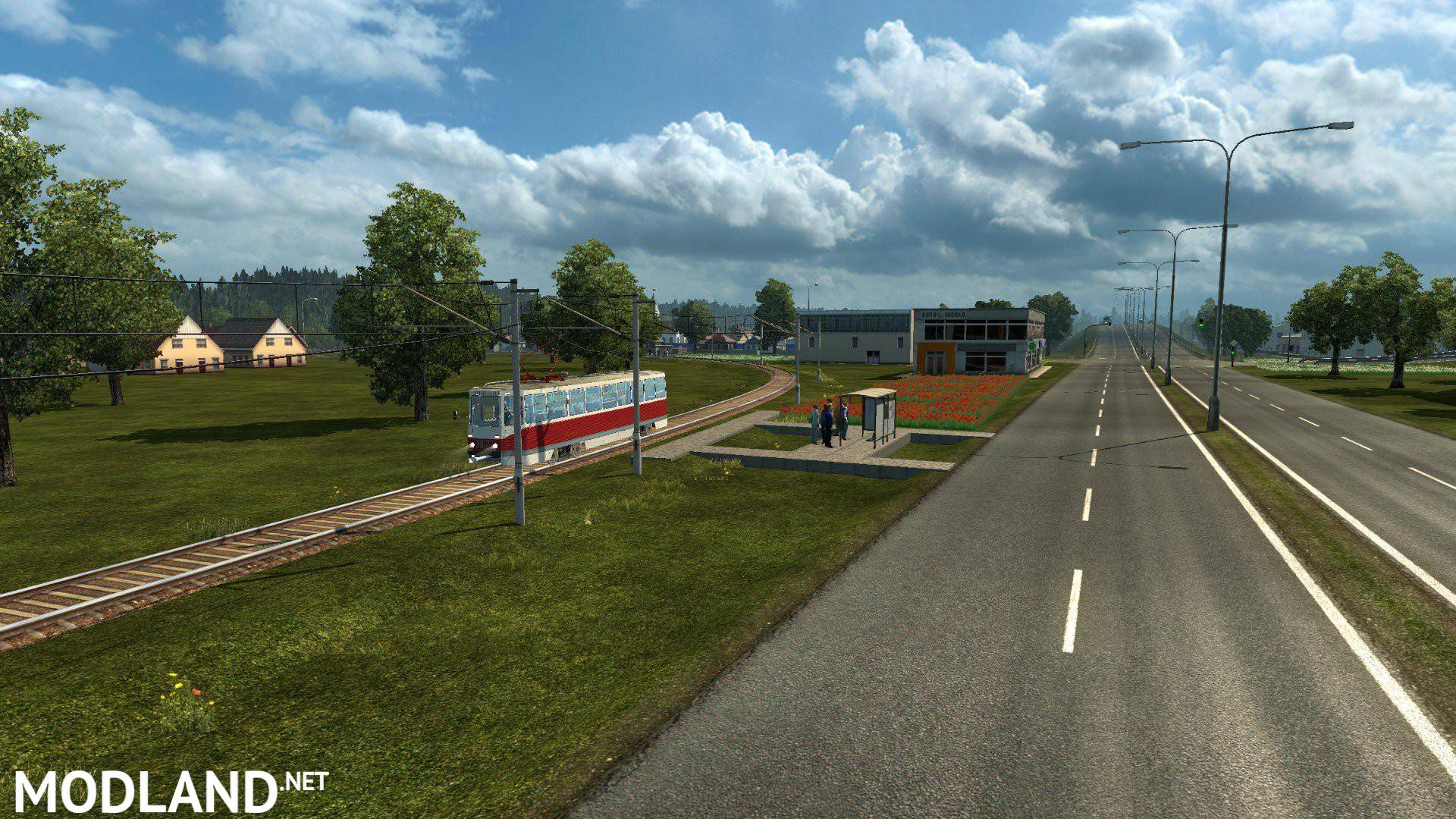 Orient Express Map 9 1 + Turkey compatible with ProMods 2 03