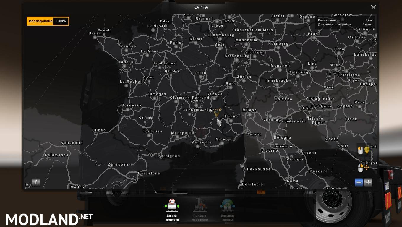 Mario Map v122 127 mod for ETS 2