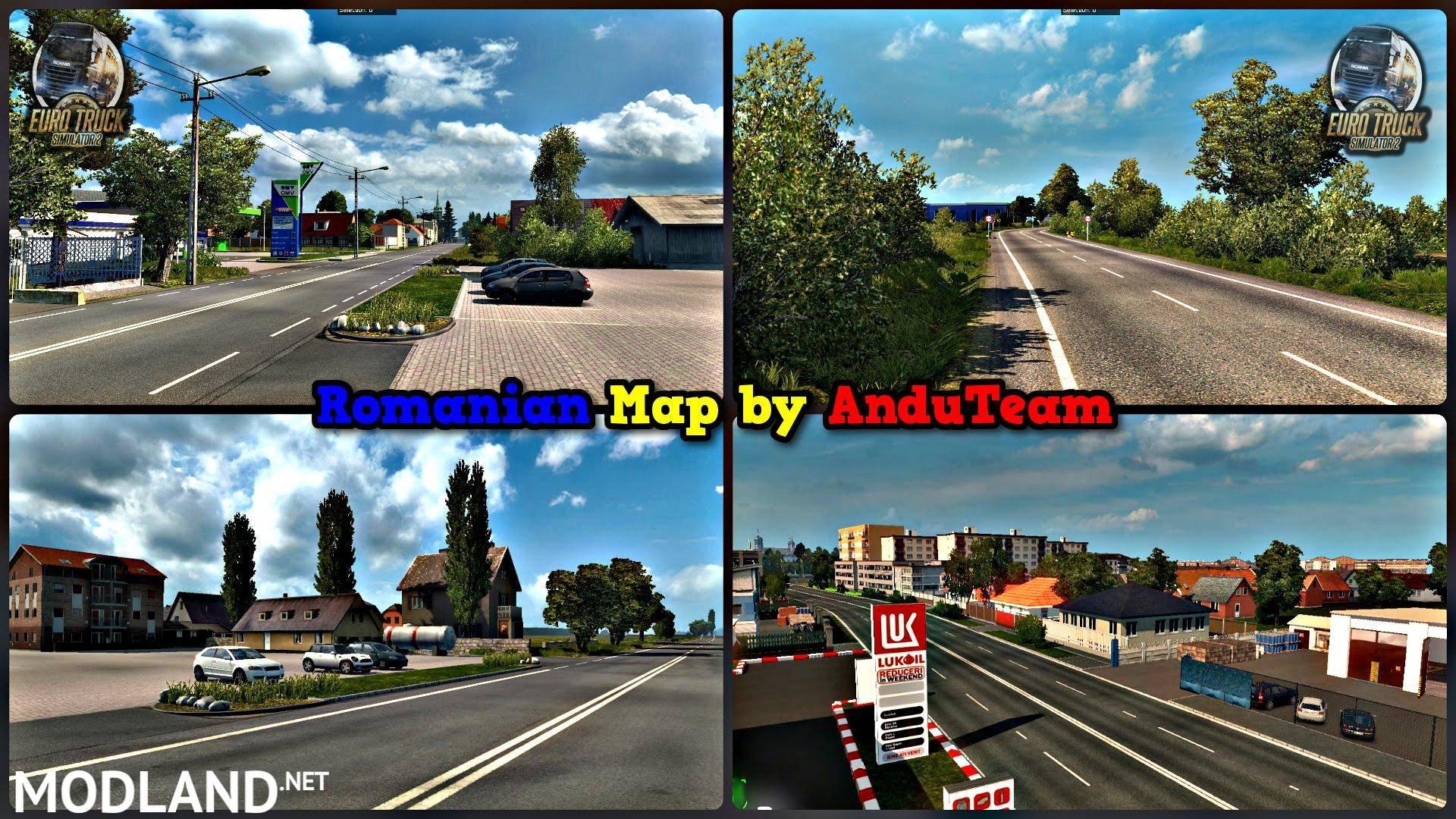 Romanian map final version for euro truck simulator – simulator.