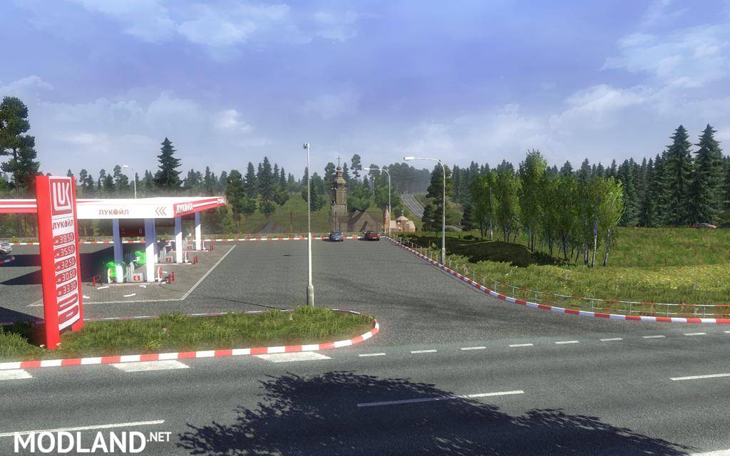 Rus Map V Mod For ETS - R us map