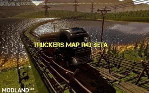Truckers Map R43 BETA