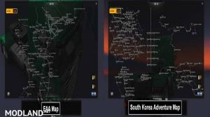 Zoom EAA + South Korea for original map V 1.24.XX, 2 photo