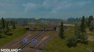 Rotterdam Brussel Highway X Calais Duisburg Road Intersection Mod (NO DLC IS REQUIRED), 1 photo