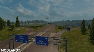 Rotterdam Brussel Highway X Calais Duisburg Road Intersection Mod (NO DLC IS REQUIRED), 4 photo