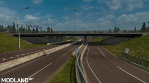 Rotterdam Brussel Highway X Calais Duisburg Road Intersection Mod (NO DLC IS REQUIRED), 5 photo