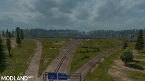 Rotterdam Brussel Highway X Calais Duisburg Road Intersection Mod (NO DLC IS REQUIRED), 6 photo
