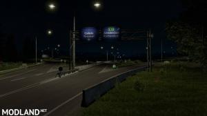 Rotterdam Brussel Highway X Calais Duisburg Road Intersection Mod (NO DLC IS REQUIRED), 10 photo