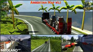 Argentina Map v 1.2