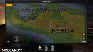 Freeport Indonesia Map V1 by Ojepeje Team, 1 photo