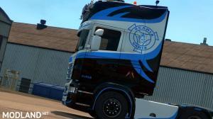 Blue Eagle skin for Scanai RJL 1.30