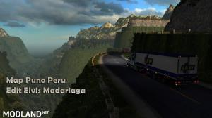Map Puno Peru DX11 ETS2 1.36.x, 3 photo