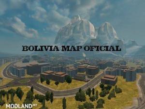 Bolivia Map v 3.4