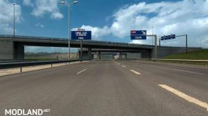 Calais A16 and A216 Highway Junction Mod