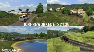 ICRF REWORKED Map Mod DX11 – ETS2 1.36, 2 photo