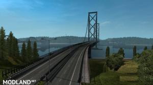 [1.32] [No DLC is Required] M90 Forth Road Bridge Improvement Mod