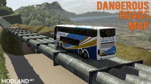Rota FG Map v1.2 by Fernando Gamer - ETS2 1.37 (Dangerous Roads Map)