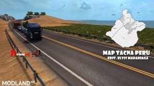 Map Puno Peru v1.9 DX11 ETS2 1.35.x, 1 photo